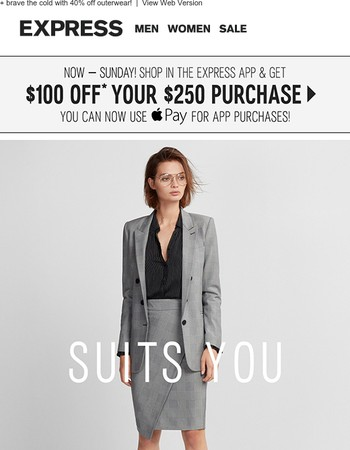 Suit up for your next big move
