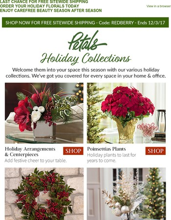 Decorating for The Holidays Made Easy with FREE SHIPPING