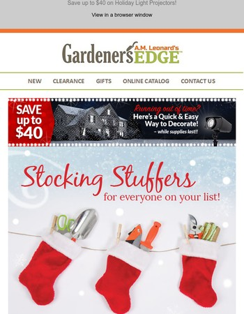 Save 10% on Stocking Stuffers + Free Gloves with Every Order!