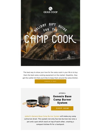What to Get the Camp Cook in Your Life this Holiday Season