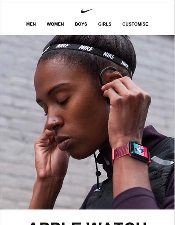 It's here: Apple Watch Nike+ Series 3.