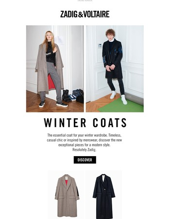 Winter selection: the coat