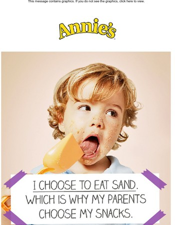 Enter to Win a Year's Supply of Annie's Organic Snacks!
