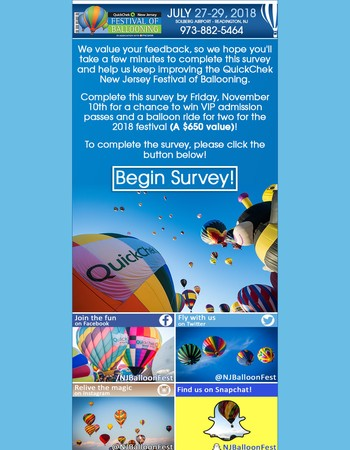 Your Chance To Win Two FREE Balloon Rides!