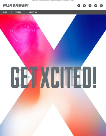 Get Xcited for iPhone X