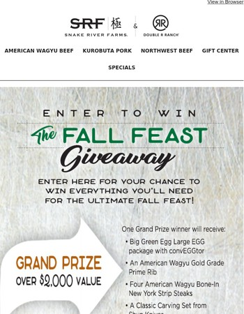 Fall Feast Giveaway | Enter to Win!