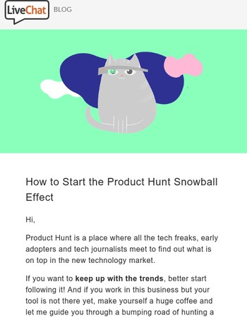How to Start the Product Hunt Snowball Effect