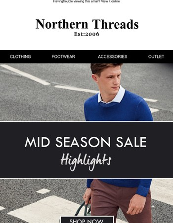 Mid Season Highlights | Up To 50% Off