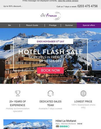 NEW Hotel flash sale! Up to 50% off