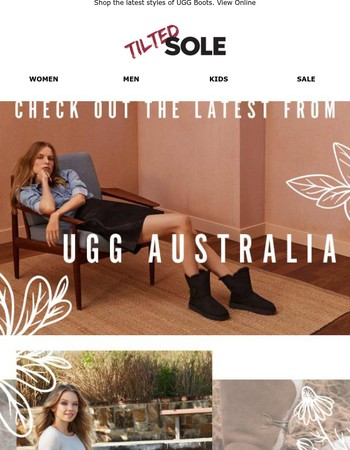New Arrivals from UGG Australia!