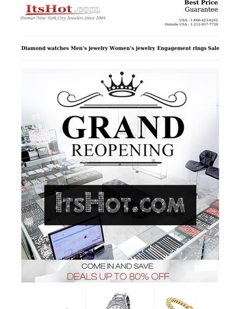 Grand Reopening Sale, Last Day Thursday November 9th