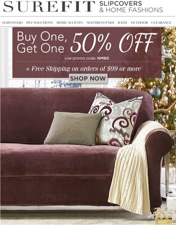 BOGO 50% Off On That Room Refresh
