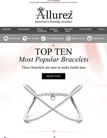 Checkout The Top 10 Most Popular Bracelets