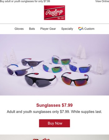 This Weekend Sunglasses Only $7.99