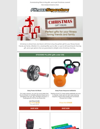 Christmas Gift Ideas from only £30