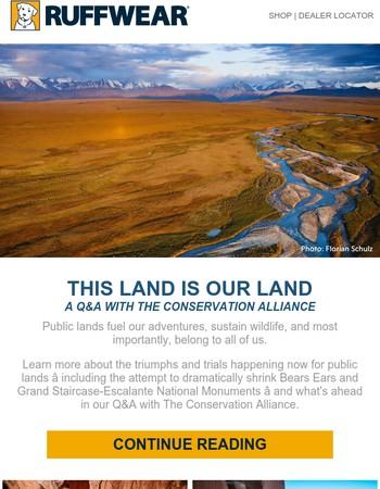 Paws for Public Lands