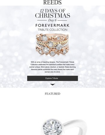 Introducing: The Forevermark Tribute Collection