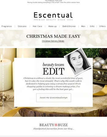 The Escentual Beauty Team Edit