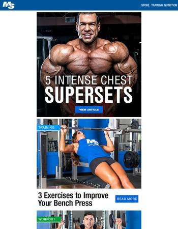 5 Intense Chest Day Supersets