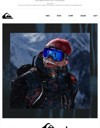 Highline Series Snow: Feel The Freedom With Mega Stretch