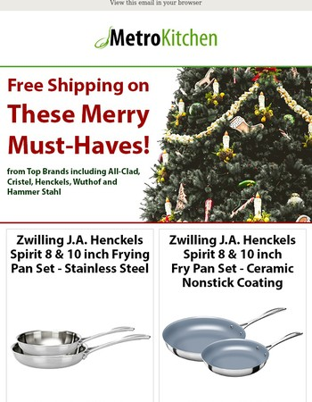 FREE Shipping on These Merry Must-Haves!