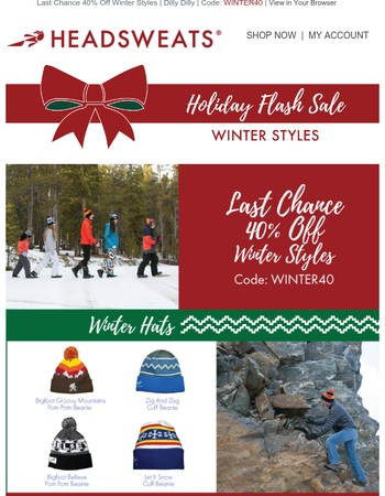 Hurry! Hurry! Before Time Runs Out ⏳ 40% Off Winter Styles