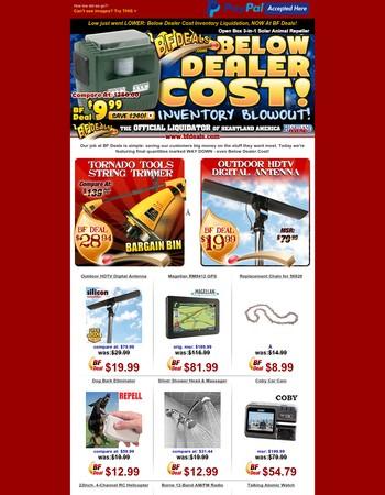 Below Cost Open Box Sale: $9.99 3-in-1 Solar Animal Repeller!