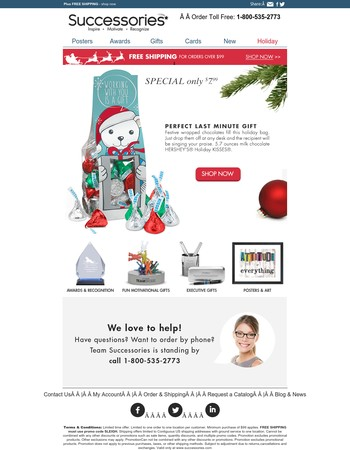SPECIAL - 20% OFF Holiday Gift