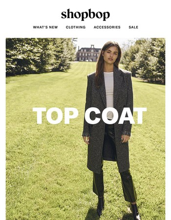 3 reasons to buy a topcoat