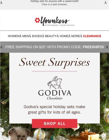 Sweet Surprises from Godiva