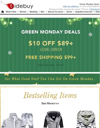⌛Green Moday Deals-Big Discount Items Listed For You.