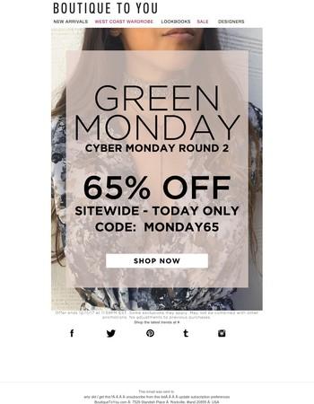 Cyber Monday round 2