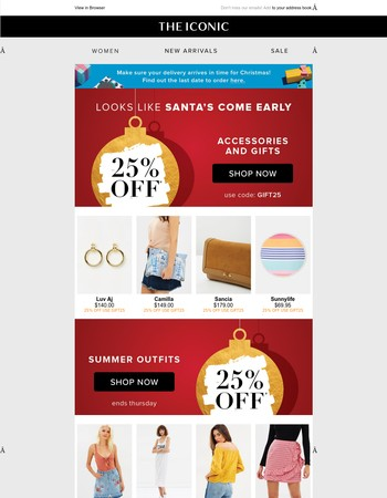25% off? Gift yourself too!