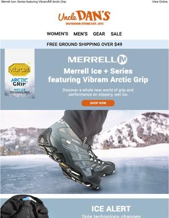 Make Ice Obsolete: Vibram® Arctic Grip