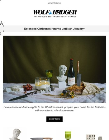 A Christmas Soirée plus day 12 of our advent calendar
