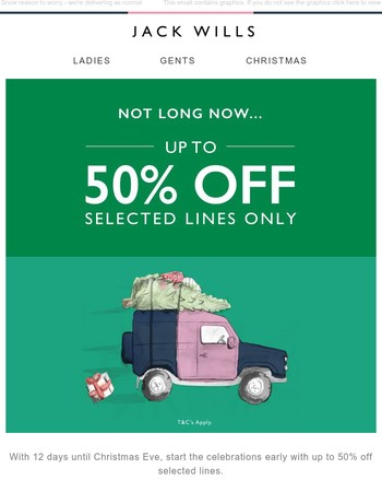 Yule love this | Up to 50% off