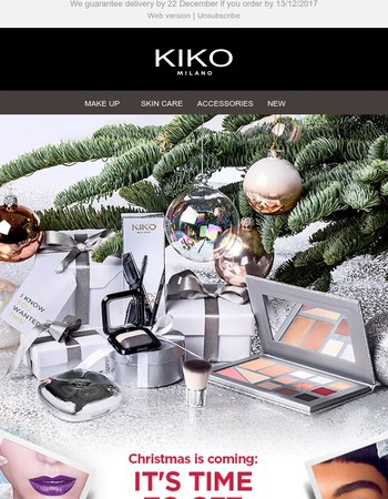KIKO gift guide: get inspired for a radiant, colourful Christmas