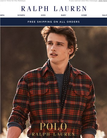 Gifts Every Guy Wants From Polo Ralph Lauren