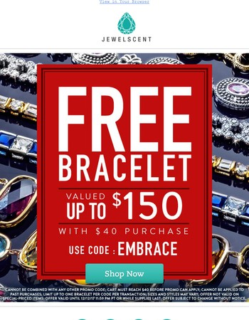 Free Bracelet!