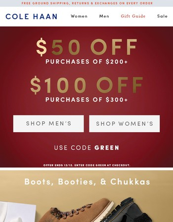 Final Day! Up to $100 Off Your Purchase. No Exclusions.