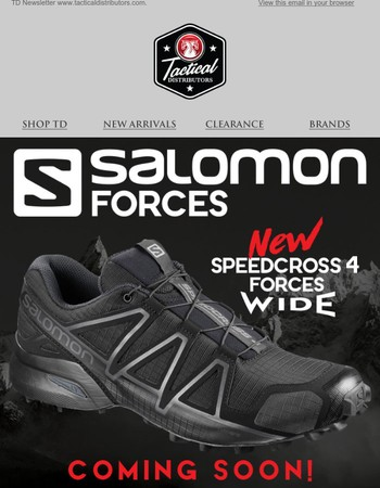 Salomon! New Release Coming Soon & 25% Off Select Styles!