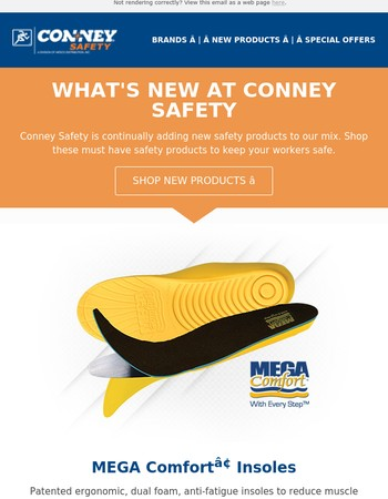 New Arrivals at Conney.com