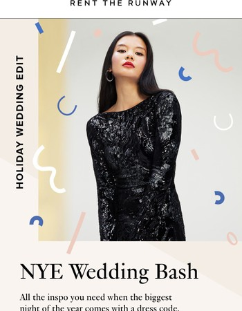 For NYE Weddings—12 Coveted Styles