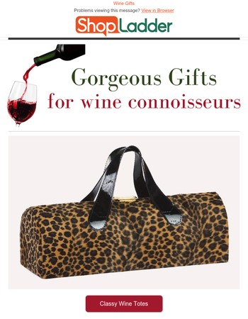 Shop gorgeous gifts for wine connoisseurs