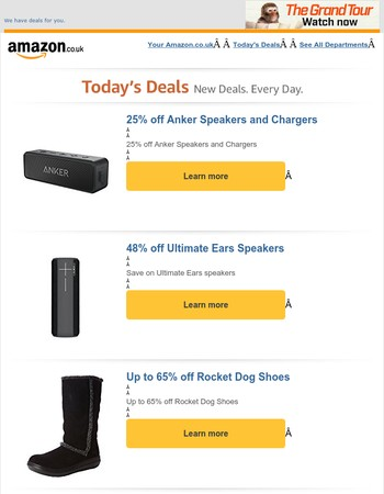 Today's Deal of the Day and Best Deals