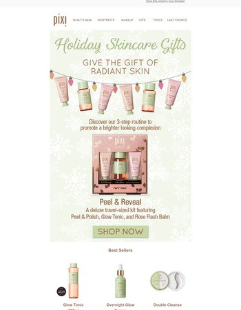 Exclusive Holiday Kit: Peel & Reveal