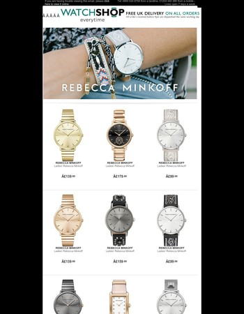 Rebecca Minkoff Watches - Exclusive To Us