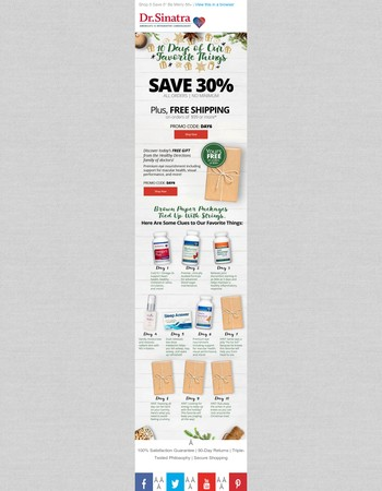 Shop  Save  Be Merry