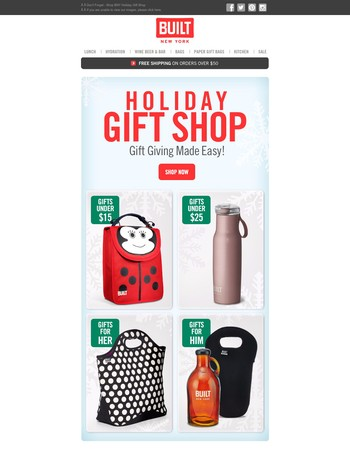 Don't Forget! - Shop the BNY Holiday Gift Shop!