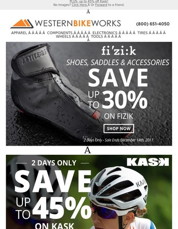 Up to 30% Off Fizik